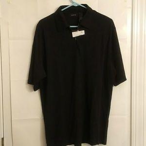 Claiborne Men's 1/4 zipper Pullover Shirt Size XL